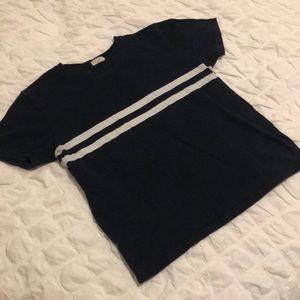 Navy blue Brandy Melville T-Shirt size small